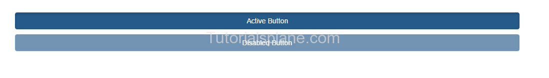 Bootstrap Buttons State