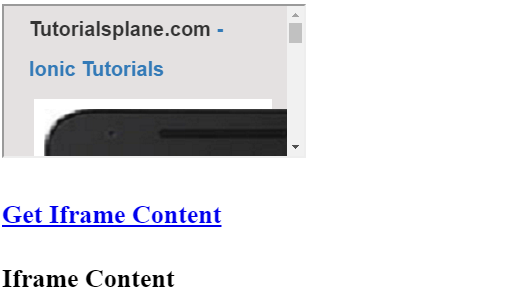 Access Iframe Content in jQuery JavaScript