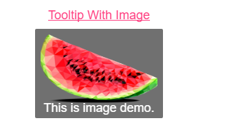 Add image in tooltip example