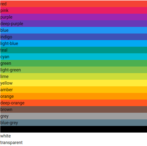 Materialize Color Picker